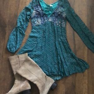 Hollister boho mini dress